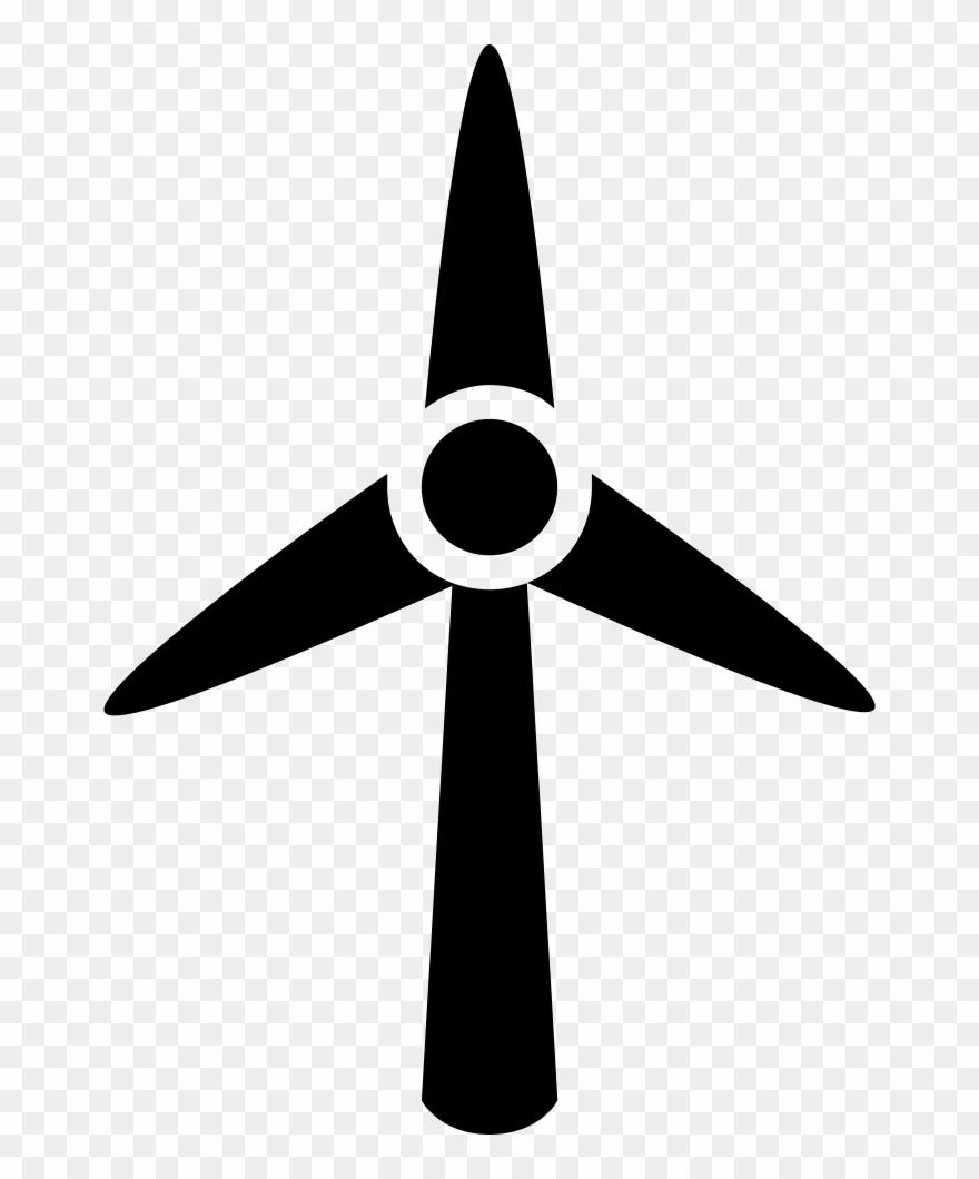 Wind Turbine Windmill Svg Png Icon Free.
