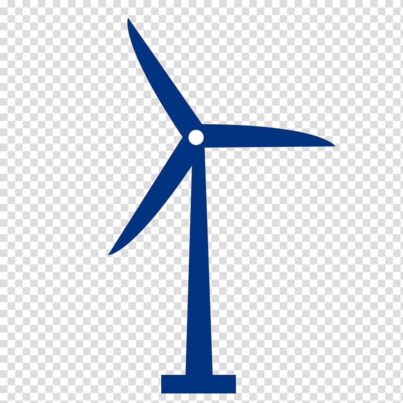 Renewable energy Windmill Wind power , Wound transparent background.
