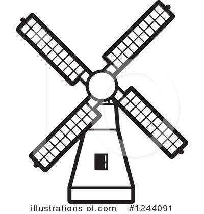 Windmill Clipart #1244091.