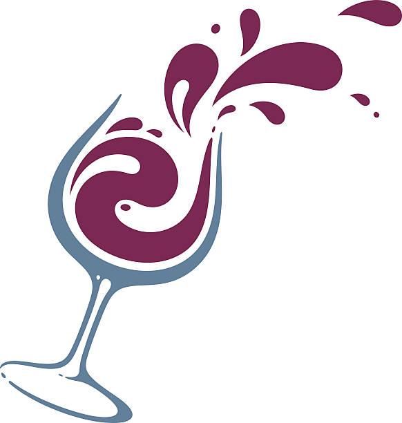 Best Wine Glass Illustrations, Royalty.