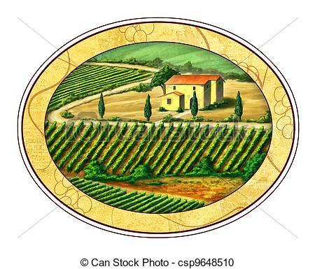 Wine label clipart 6 » Clipart Portal.