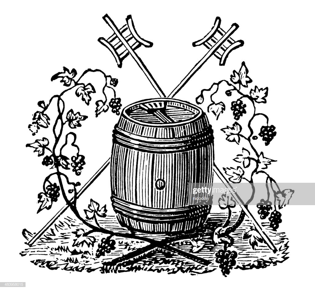 Vintage Clip Art And Illustrations I Wine Label Stock Illustration.