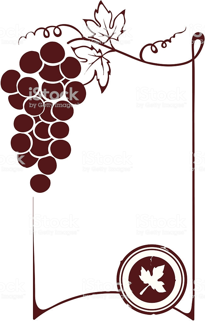 The Blank Wine Label Stock Illustration.
