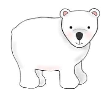 Arctic animals Clipart {winter}.