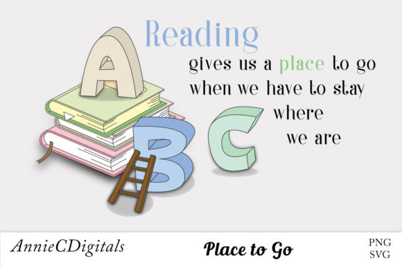 Reading Graphic, Clip Art, Cute Sayings.