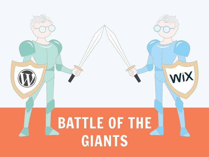 Wix vs WordPress 2019.