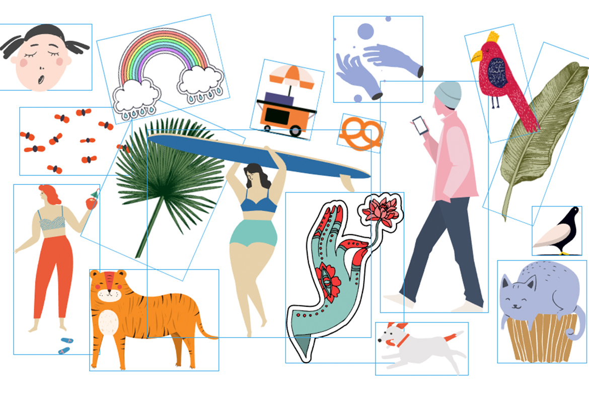 Vector Illustrations: the Ultimate Free Collection for Your Website.