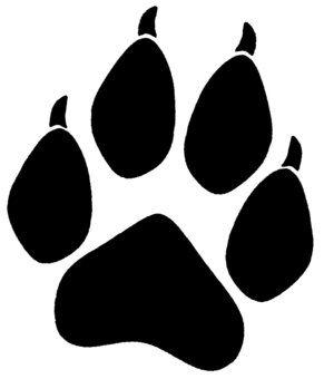 wolf paw logo.
