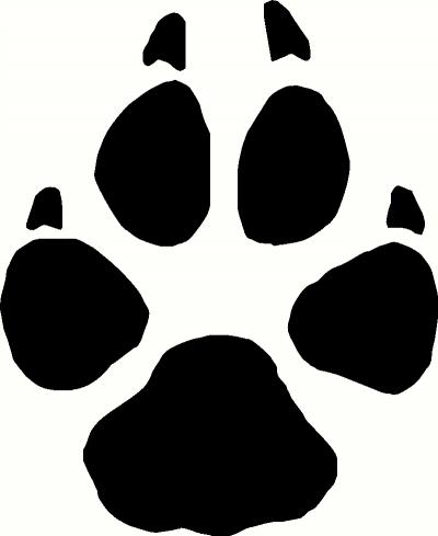 51+ Wolf Paw Print Clip Art.