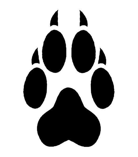 12 Wolf Paw Print Temporary Tattoos School Mascot Cheerleader Face Tats.
