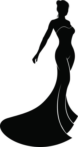 Best Evening Gown Illustrations, Royalty.