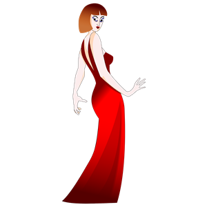 Woman In Red Dress clipart, cliparts of Woman In Red Dress free.
