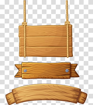 Wooden Signs PNG clipart images free download.