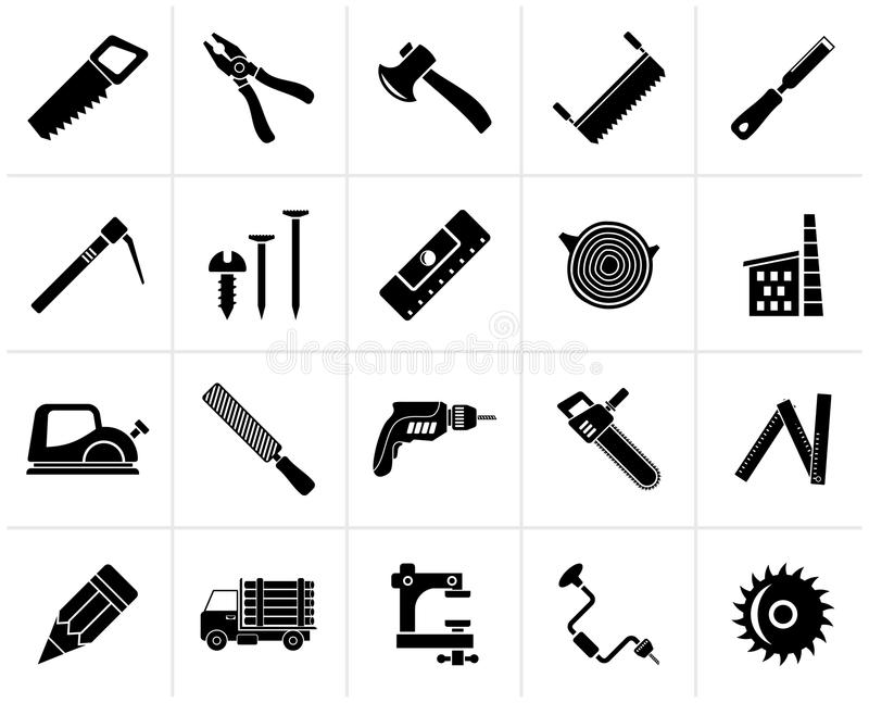 Woodworking Stock Illustrations.