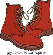 Work Boots Clip Art.