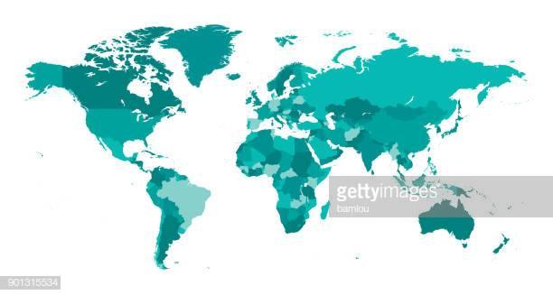60 Top World Map Stock Illustrations, Clip art, Cartoons, & Icons.