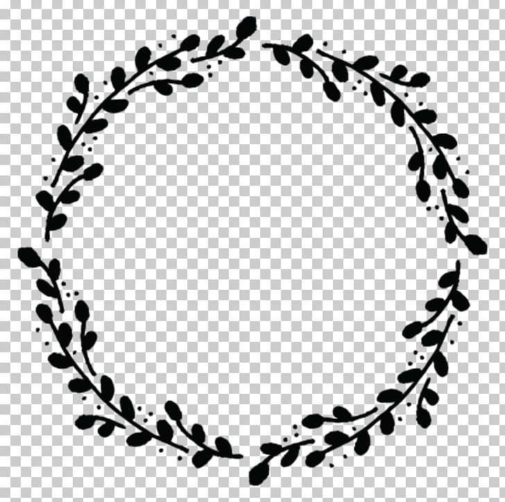 Wreath Drawing PNG, Clipart, Black, Black And White, Body Jewelry.