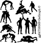 Wrestling Clip Art.