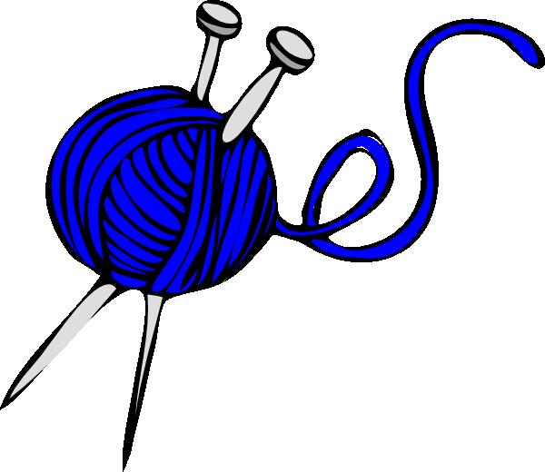 Blue Yarn Clip Art at Clker.com.