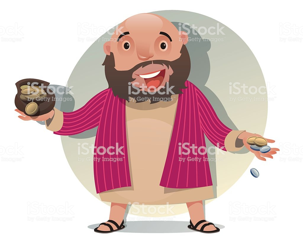 Zacchaeus Kind Generous And Happy Stock Vector Art & More Images of.