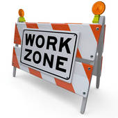 Work Zone Clipart.