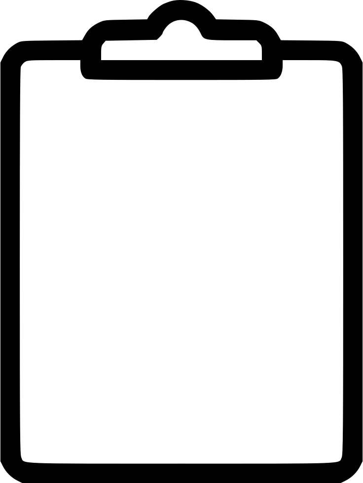 Clipboard Svg Png Icon Free Download (#528147).