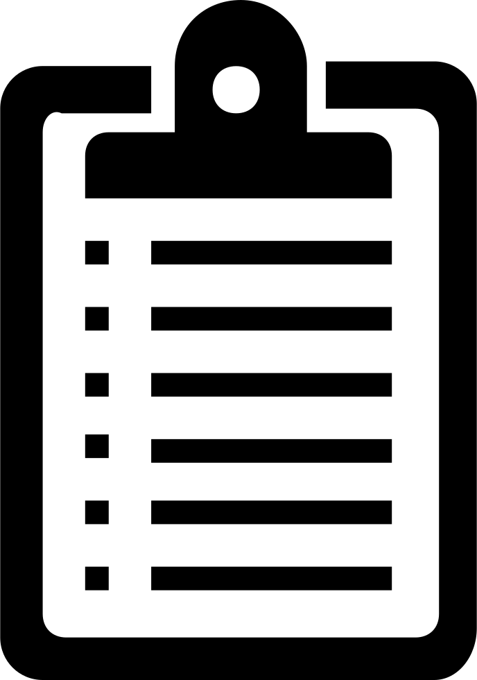 Clipboard Svg Png Icon Free Download (#218810).