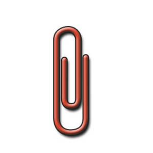 Paper Clip Clip Art.