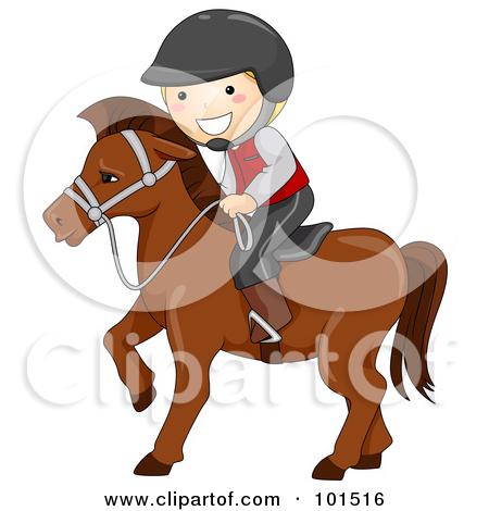 Pony Riding Clipart.
