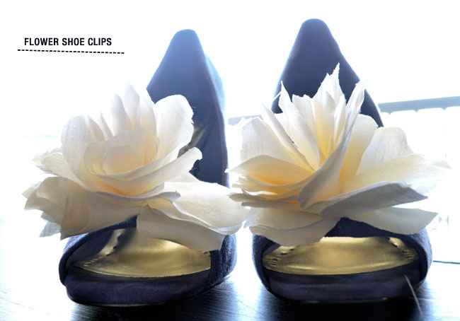 DIY: Pretty Shoe Clips.