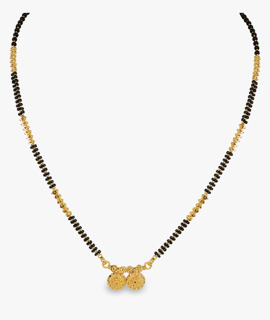 Transparent Gold Necklace Clipart.