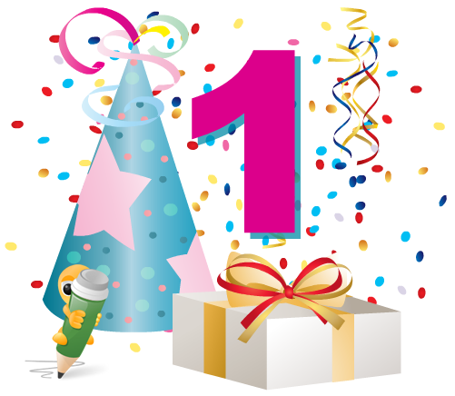 Hurray.. My Blog is 1 year old.