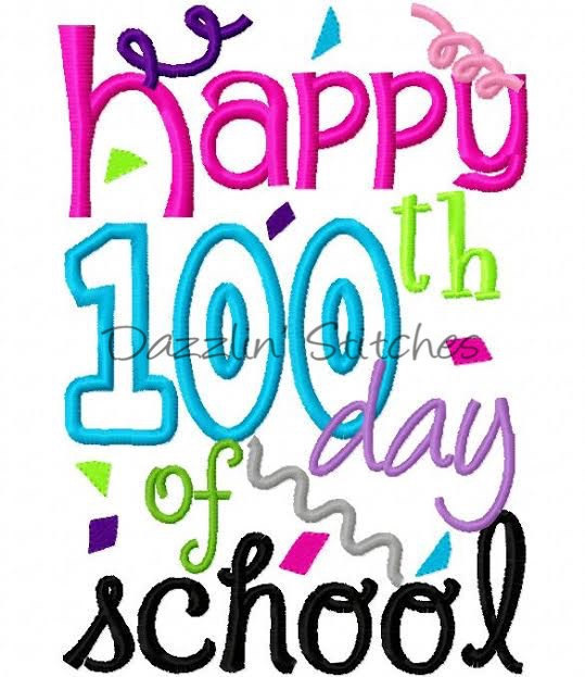 100th day of school.