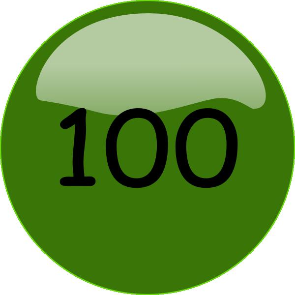 100.png Clip Art at Clker.com.