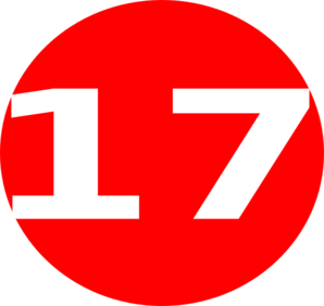 Free Number 17 Cliparts, Download Free Clip Art, Free Clip.