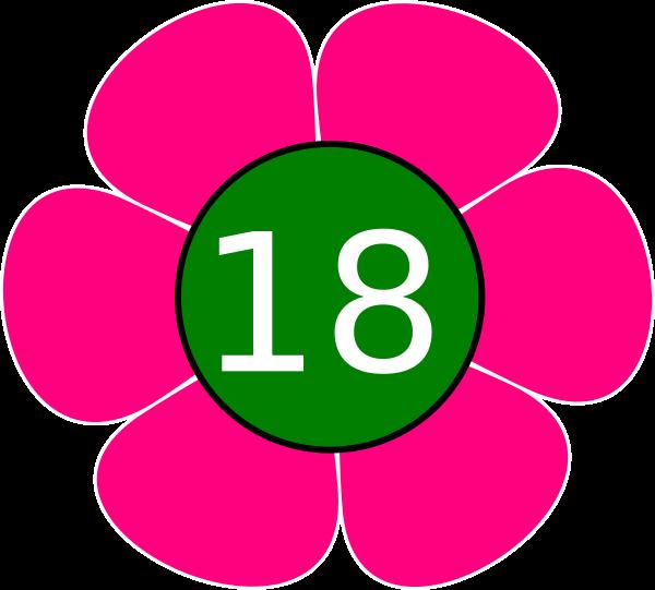 Flower 18 Clip Art at Clker.com.
