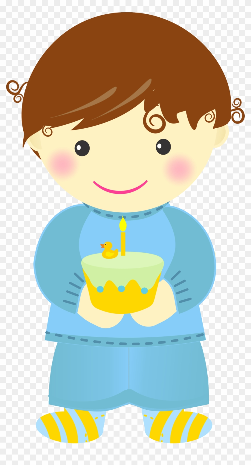 Baby's First Birthday Clip Art.