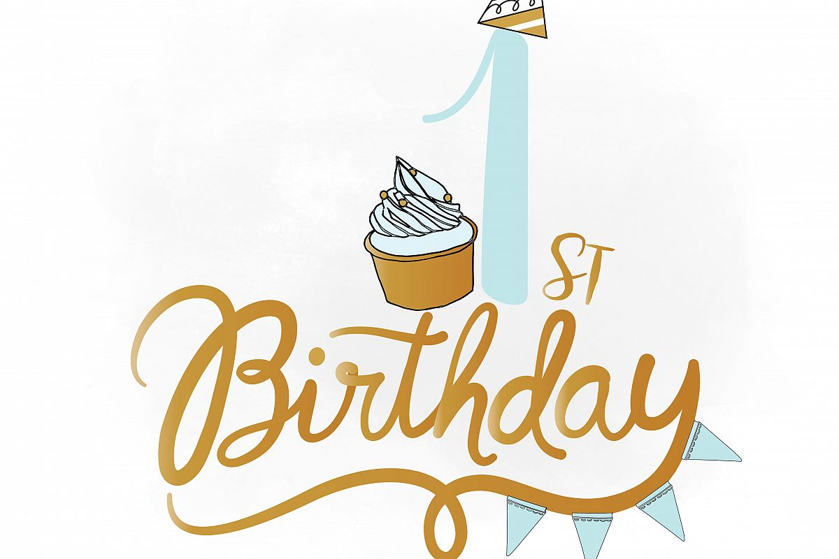 1st Birthday Clipart Png.