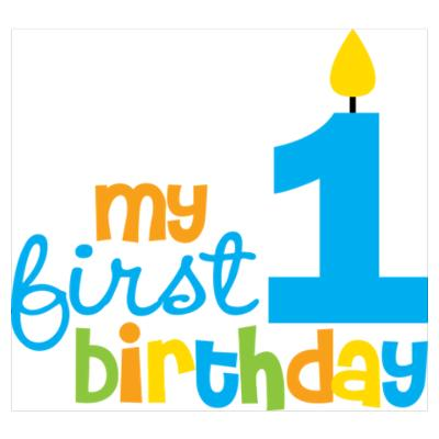 First Birthday Cliparts.