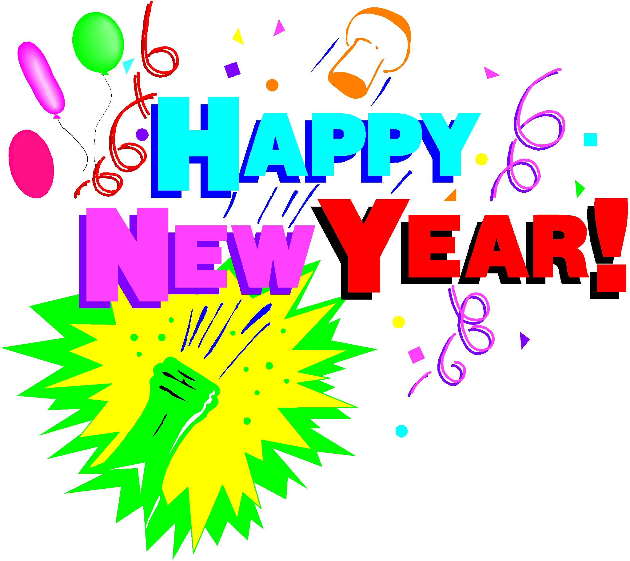 New Years Eve 2015 Clipart.