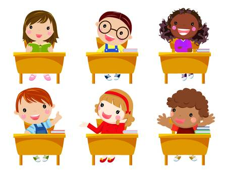 21 479 Student Desk Stock Vector Illustration And Royalty Free.