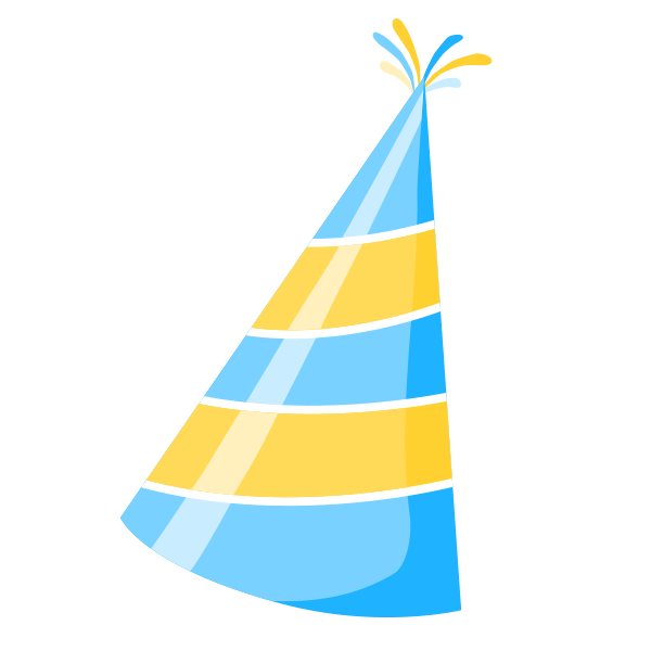 Birthday Hat Clip art.