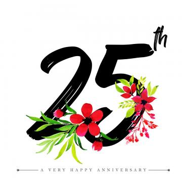 Number 25 Png, Vector, PSD, and Clipart With Transparent Background.