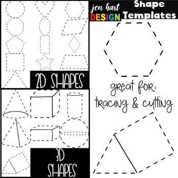 Free Shape Clipart Templates.