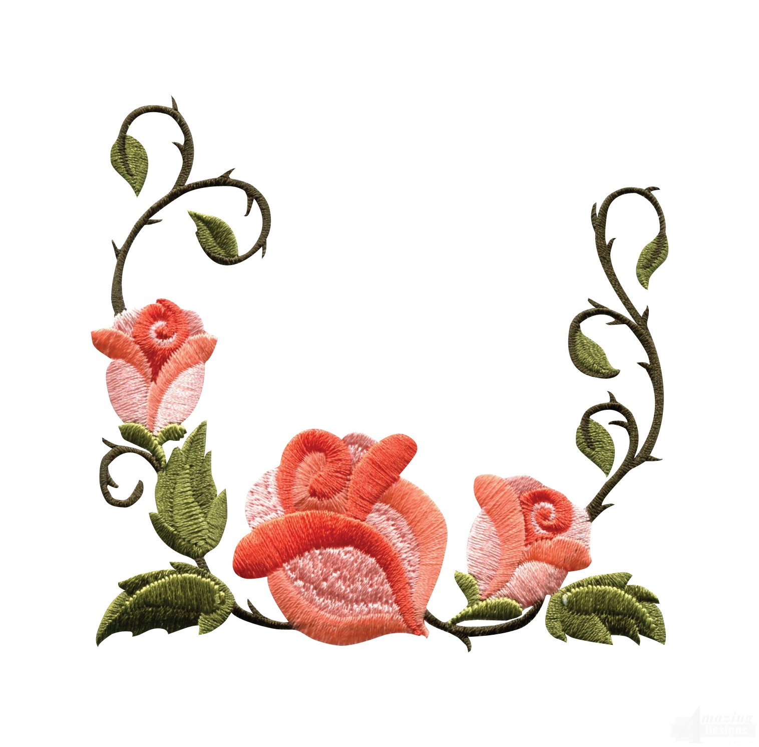 Free Rose Flower Design Border, Download Free Clip Art, Free.