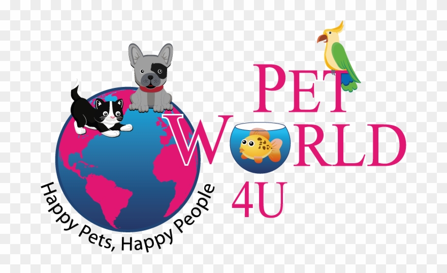 Pet World 4u Logo.