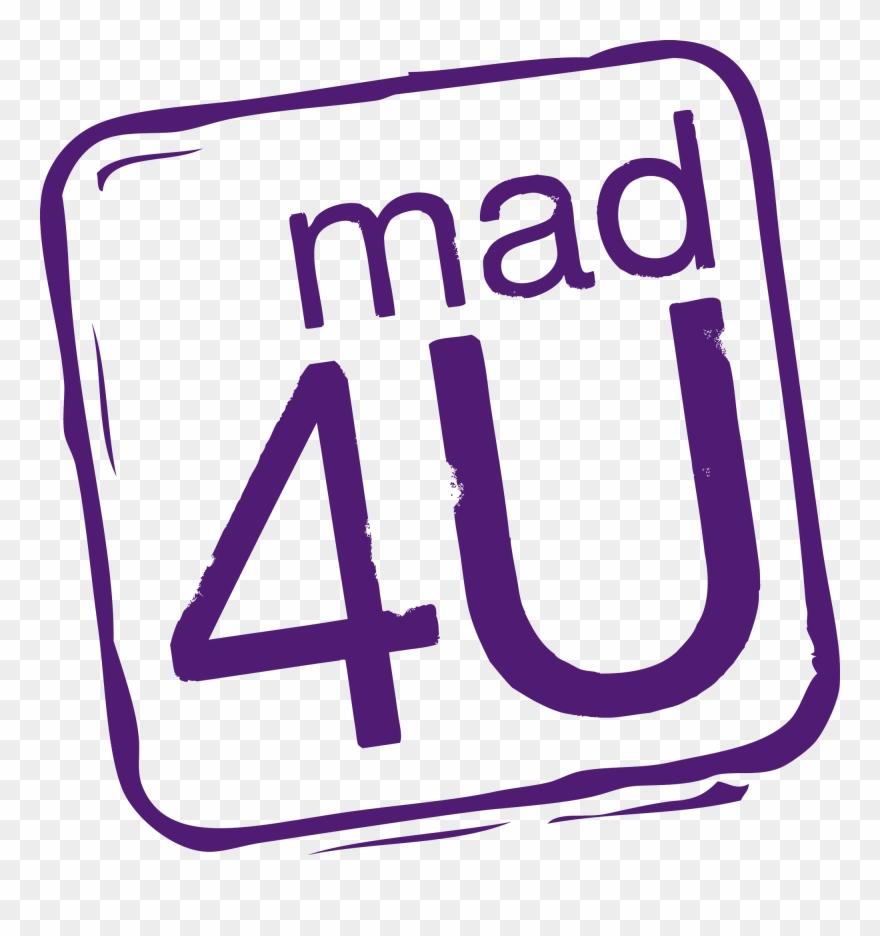Mad 4u Logo Clipart (#3000047).