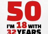 50th birthday free clipart.