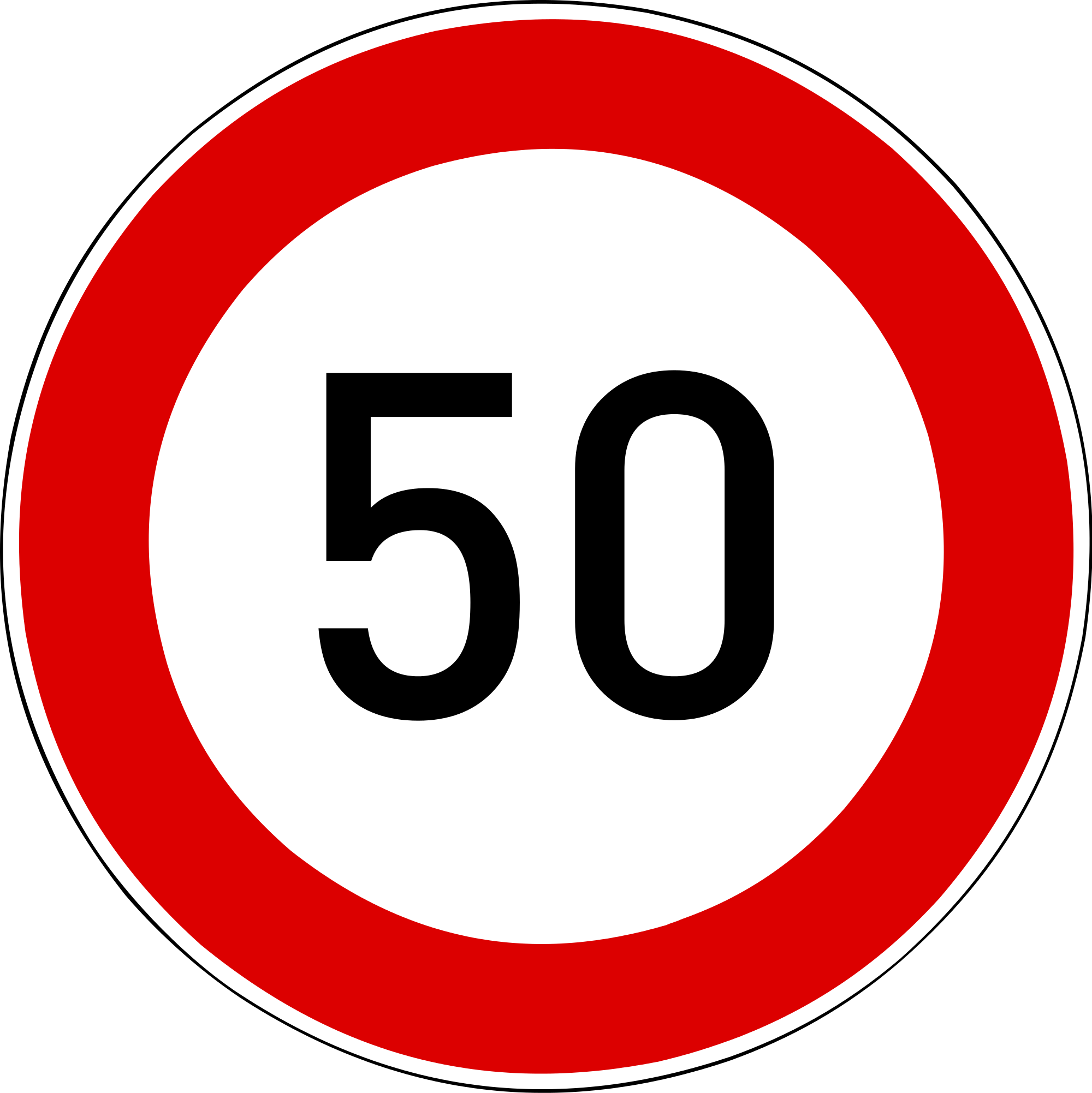 50 Number PNG Clipart.