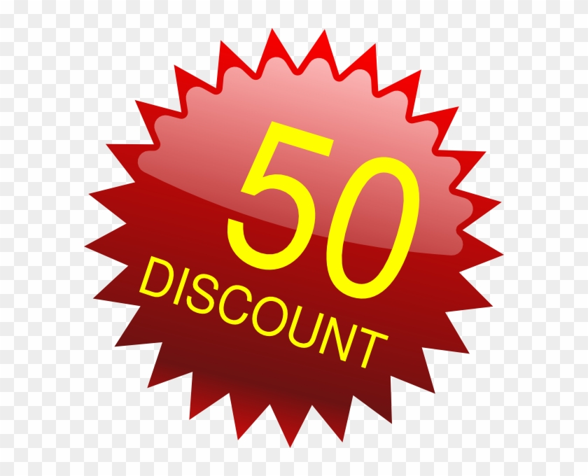 50 Pounds Discount Clip Art.